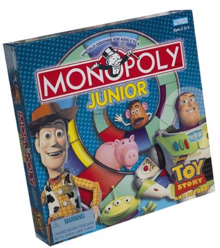 toy story 4 games. Toy Story Monopoly Jr.