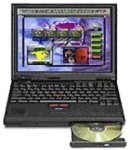 IBM THINKPAD 600X (500MHz Pentium III, 128MB RAM, 12GB Hard Drive)