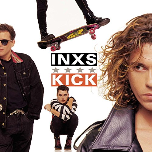 Original album cover of Kick by INXS