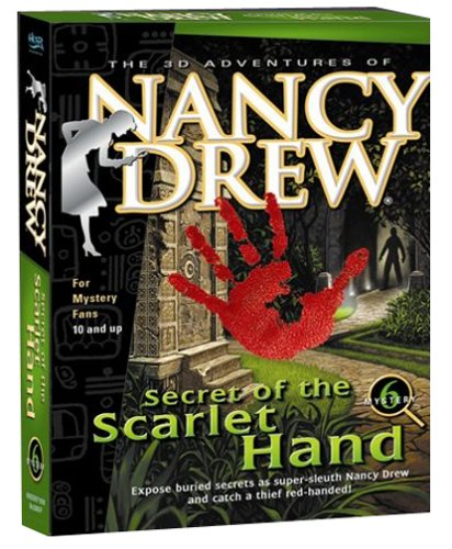 Nancy Drew: Secret   of the Scarlet Hand by Her Interactive (CD-ROM)
