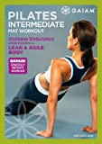Pilates Intermediate Mat Workout - movie DVD cover picture