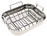 Calphalon Tri-Ply Stainless Collector's Edition 16-Inch Roaster with Rack