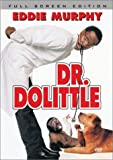 Dr. Dolittle (Full Screen Edition) - movie DVD cover picture