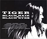 Pochette de l'album pour BLACK HAIRandBLACK EYES