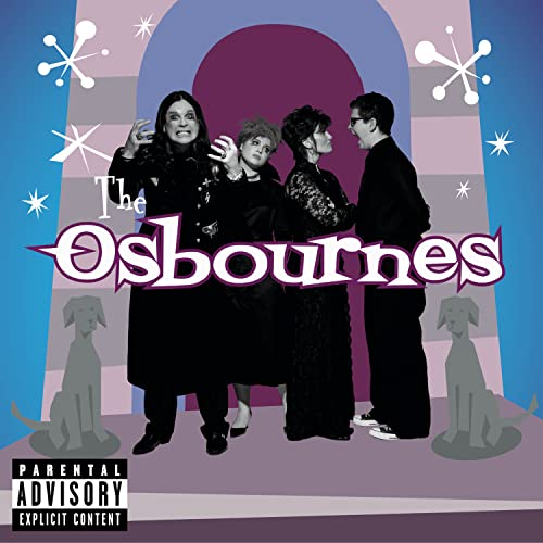 Original album cover of The Osbourne Family Album by Original Television Soundtrack, Various Artists