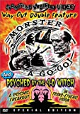 Monster a Go-Go / Psyched by the 4-D Witch - movie DVD cover picture
