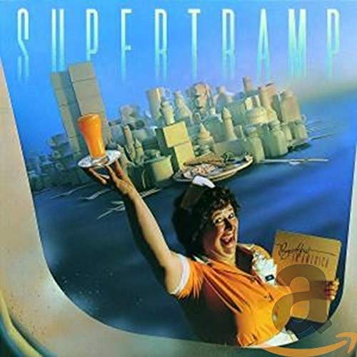 Original album cover of Breakfast in America by Supertramp