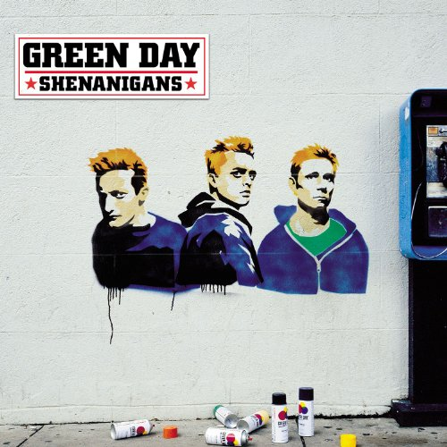 Original album cover of Shenanigans by Green Day
