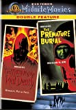 The Masque of the Red Death / The Premature Burial - movie DVD cover picture