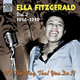 "Capa do álbum Ella Fitzgerald, Volume 2: ""It's the Way That You Do It"""