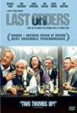Last Orders - movie DVD cover picture