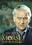 Inspector Morse - The Silent World of Nicholas Quinn - movie DVD cover picture