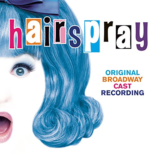 Original album cover of Hairspray (2002 Original Broadway Cast) by Marc Shaiman, Scott Wittman, Marissa Jaret Winokur, Harvey Fierstein, Kerry Butler