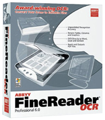 ABBYY FineReader Professional Edition is an efficient OCR software for conv