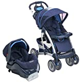 Quattro Tour Travel System with LATCH - Blueberry