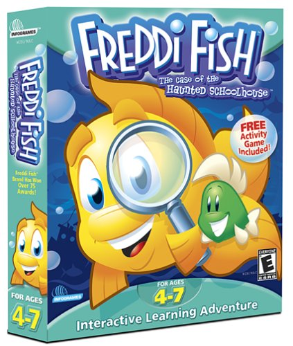 Software online store children 39 s software for Freddi fish online