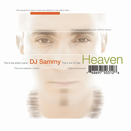 CD-Cover: DJ Sammy - Heaven
