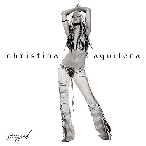 Original album cover of Stripped by Christina Aguilera