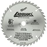 Milwaukee 48-40-4015  6-1/2, 48 Carbide Tooth Circular Saw Blade