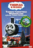 Thomas the Tank Engine and Friends - Thomas' Christmas Wonderland (With Bonus CD Sampler) - movie DVD cover picture