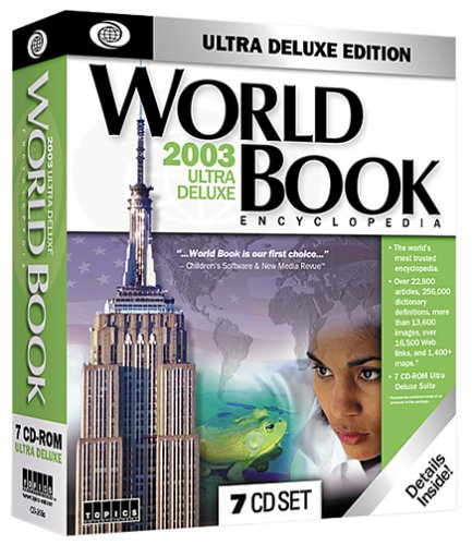 World Book Encyclopedia CD 2003