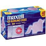 MAXELL  CD365 CD or DVD Jewel Case
