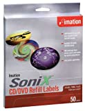 Imation Sonix CD/DVD Lable Refill (50-Pack)