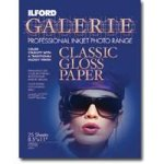 ILFORD Galerie IGSGP9 Classic Gloss 8.5 x 11 Photographic Paper ? 25 Sheets