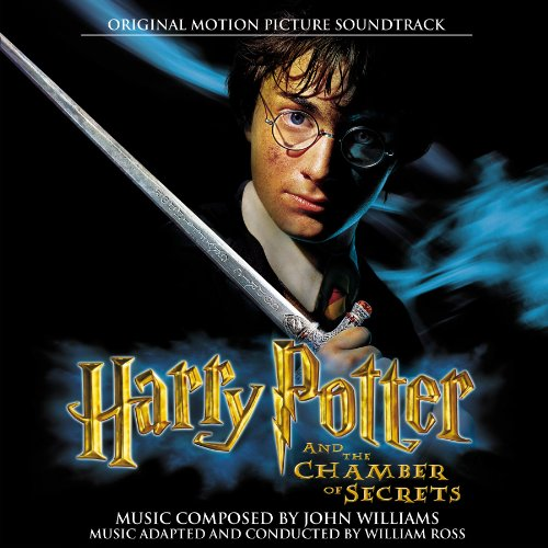 John Williams' original movie soundtrack 'Harry Potter and the Chamber of Secrets' CD