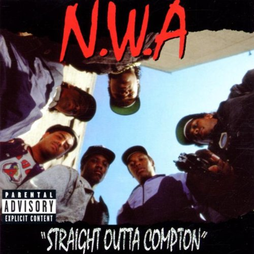 Original album cover of Straight Outta Compton by N.W.A.