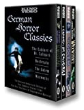 German Horror Classics (Nosferatu (1922) / The Cabinet of Dr. Caligari / Waxworks / The Golem) - movie DVD cover picture