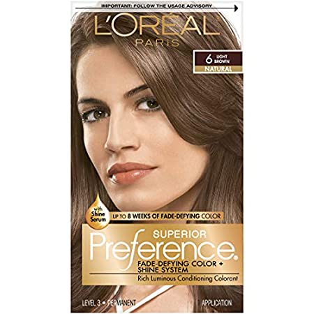 brown hair color palette. L#39;oreal Preference Hair Color