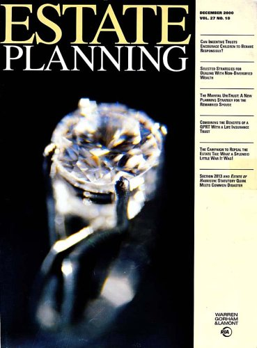 Estate Planning [MAGAZINE SUBSCRIPTION]