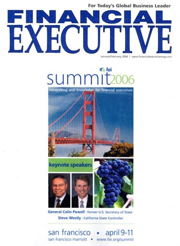 Financial Executive [MAGAZINE SUBSCRIPTION]