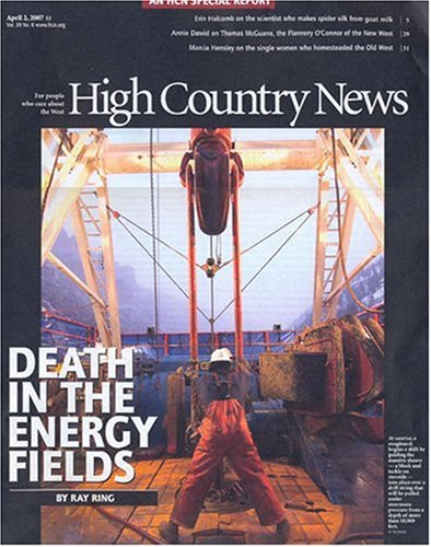 High country news : for people who care about the West.