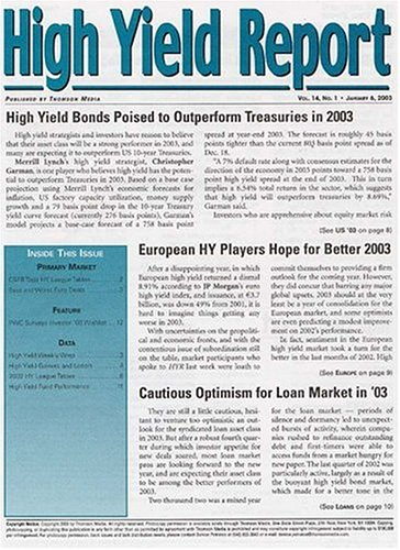 High Yield Report  [MAGAZINE]