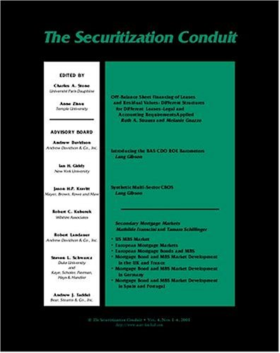 Securitization Conduit  [MAGAZINE SUBSCRIPTION]</a>  <a href=
