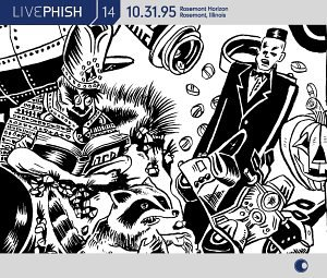 CD-Cover: Phish - Live Phish Vol. 14: 10/31/95, Rosemont Horizon, Ro