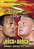 WWE SummerSlam 2002 - Rock vs. Brock - movie DVD cover picture