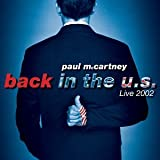 Copertina di album per Back in the U.S. Live 2002
