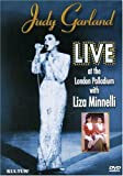 Judy Garland Live at the London Palladium with Liza Minnelli - movie DVD cover picture