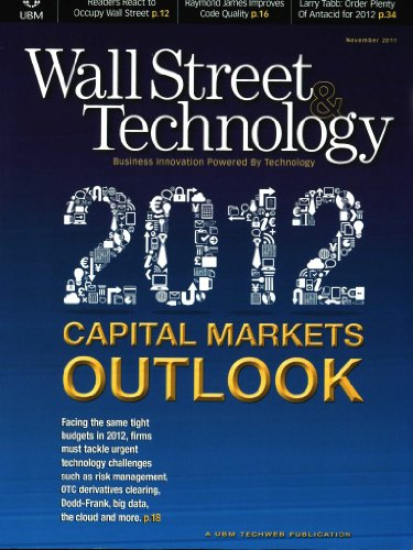Wall Street & Technology Magazine  [MAGAZINE]