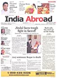India Abroad newspaper cover