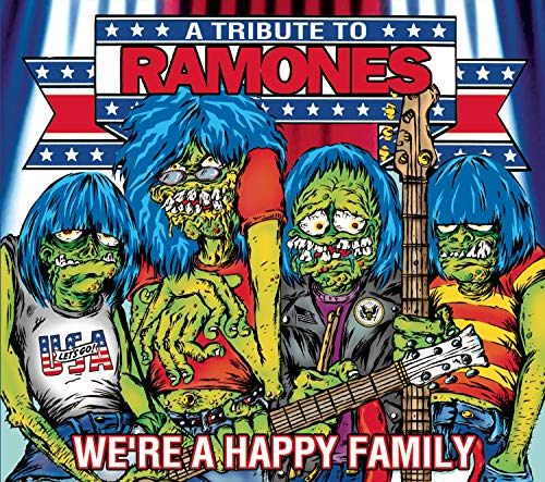 CD-Cover: Red Hot Chili Peppers - We're A Happy Family