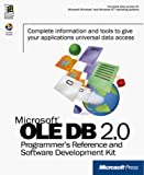 Microsoft Ole Db 2.0 Programmer's Reference and Data Access Sdk
