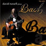 Cubierta del álbum de David Russel Plays Bach