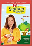 Signing Time -  An American Sign Language (ASL) Video for Children (Vol. 1) - movie DVD cover picture