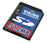 Viking 512 MB Secure Digital Flash Card (SD512M)