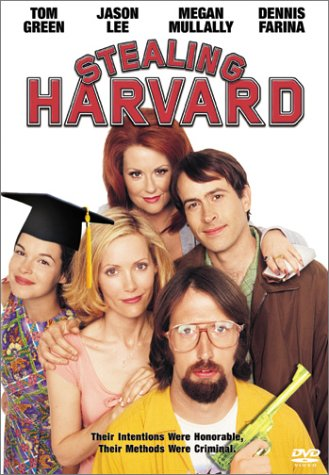 Stealing Harvard DVD cover art