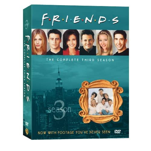 Друзья - Сезон 3 (friends - Season 3) [RUS+ENG DVDRipS] (ВСЕ серии)